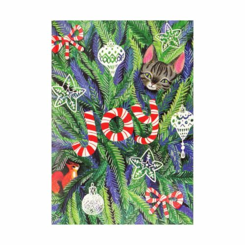 Peter Pauper Press Mini Boxed Christmas Cards - Joy to the World