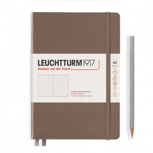 Leuchtturm Hardcover A5 Notebook - Warm Earth, Dotted