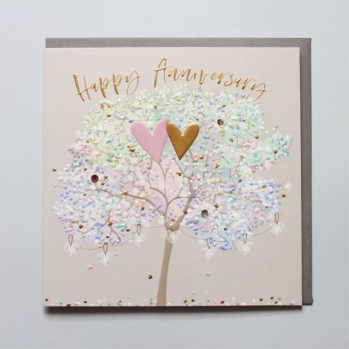 Elle Card - Happy Anniversary Tree