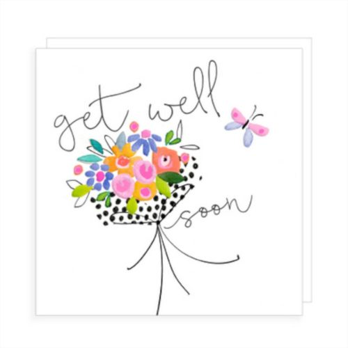 Fiora Rosa Card  - Get Well Soon Flowers
