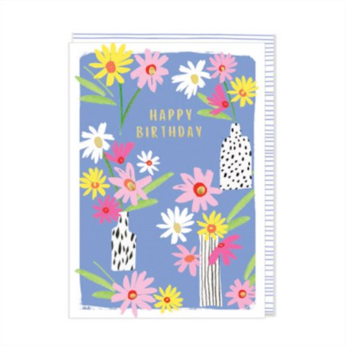 Kirra Card - Happy Birthday Flowers