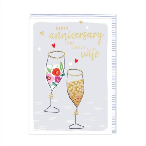 Kirra Card - Happy Anniversary To My Lovely Wife