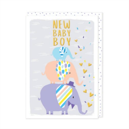 Kirra Card - New Baby Boy