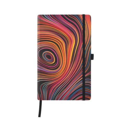 Iride Collection Ruled Notebook - Curves