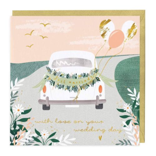 Whistlefish Card - With Love On Your Wedding Day
