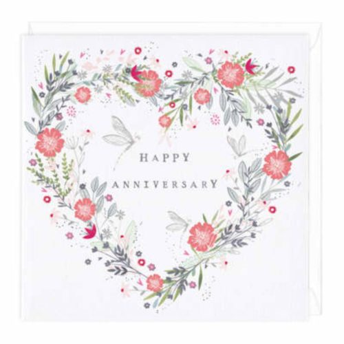 Whistlefish Collection Card - Floral Heart