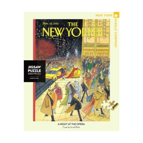 New Yorker 1000 Piece Puzzle - A Night at the Opera