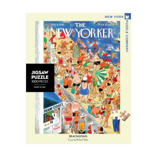 New Yorker 1000 Piece Puzzle - Beach Going