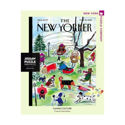 New Yorker 1000 Piece Puzzle - Canine Couture