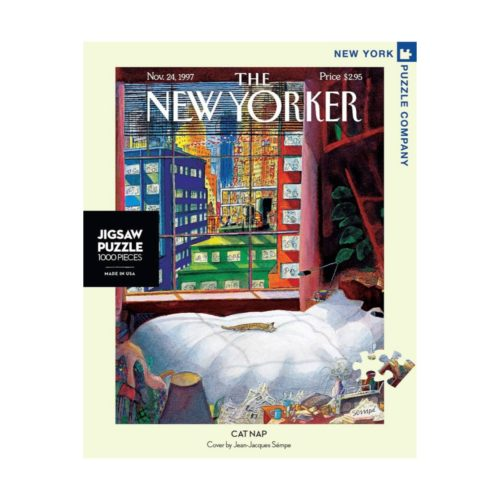New Yorker 1000 Piece Puzzle - Cat Nap