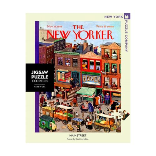 New Yorker 1000 Piece Puzzle - Main Street