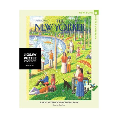 New Yorker 1000 Piece Puzzle - Sunday Afternoon in Central Park