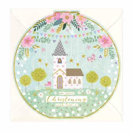 Whistlefish Card - On Your Christening