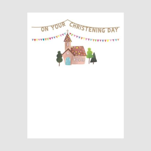 Lucky Star Card - On Your Christening Day