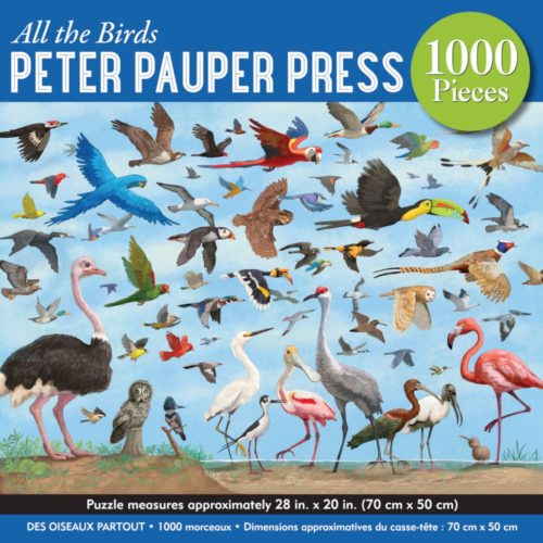 1000 Piece Puzzle - All The Birds