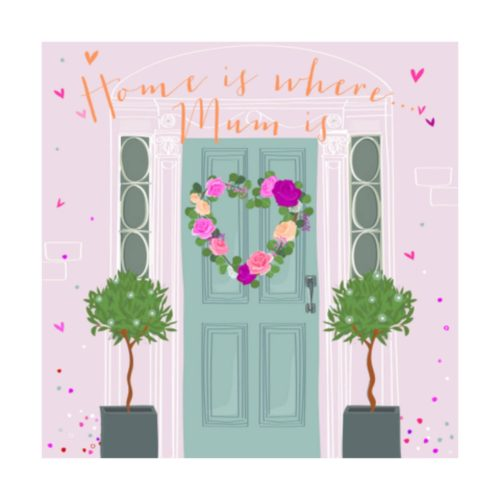 Paloma Card - Home is where Mum is