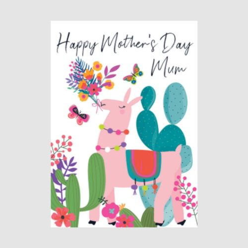 Wild Thing Card - Mother's Day Llama