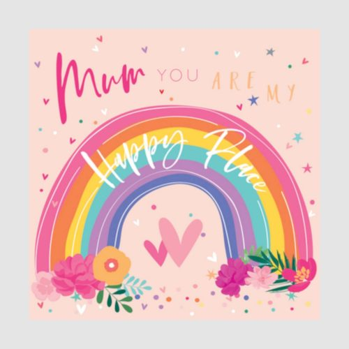 Number 78 Card - Mum you are my Happy Place