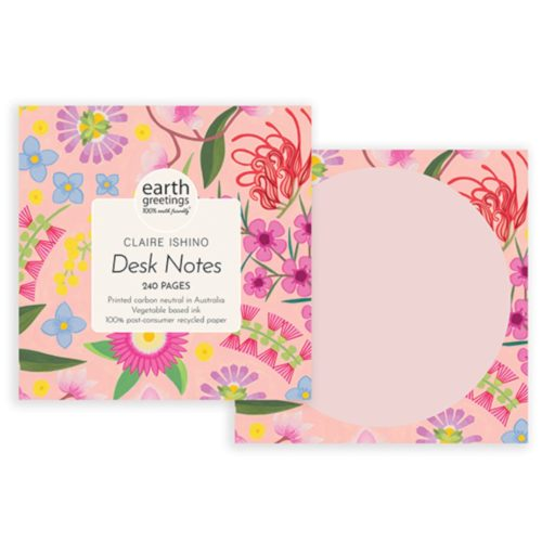 Earth Greetings Desk Notes by Claire Ishino - Costal Forage