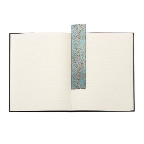 Bookmark - Maya Blue, Silver Filigree Collection