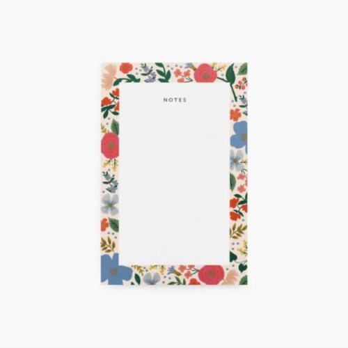 Rifle Paper Co Notepad - Wild Rose