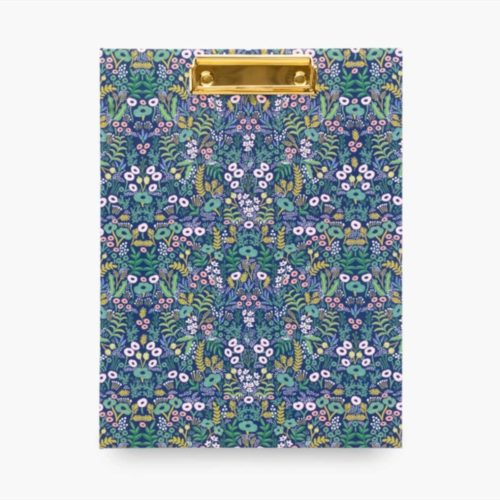 Rifle Paper Co - Clipfolio with Notepad - Tapestry