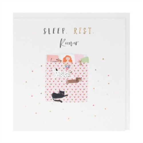 Happy Days Card - Get Well - Sleep Rest Recover