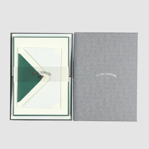 Original Crown Mill A5 Sheet and Envelope Boxed Set 25 – Cream/Olive