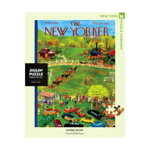 New Yorker 1000 Piece Puzzle - Horse Show