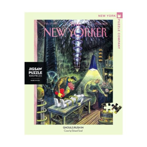 New Yorker 1000 Piece Puzzle - Ghouls Rush In