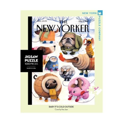 New Yorker 1000 Piece Puzzle - Baby Its Cold Outside