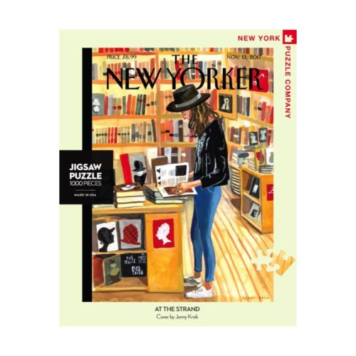 New Yorker 1000 Piece Puzzle - At the Strand