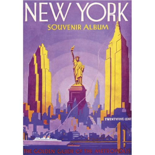 Istituto Fotocromo Italiano Wrap - NY - The Golden Guide of the Metropolis