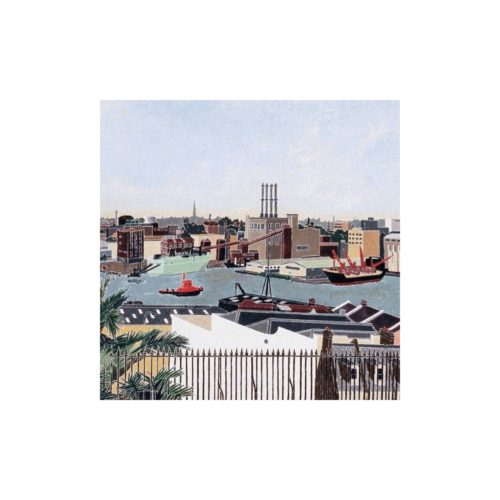 Cressida Campbell Boxed Cards and Envelopes Set - Harbour