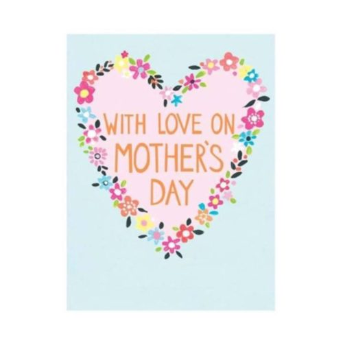 Jamboree Card - With Love On Mother's Day - Heart