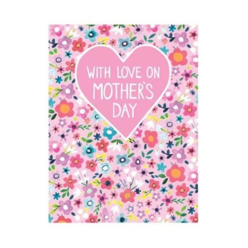 Jamboree Card - With Love On Mother's Day - Floral