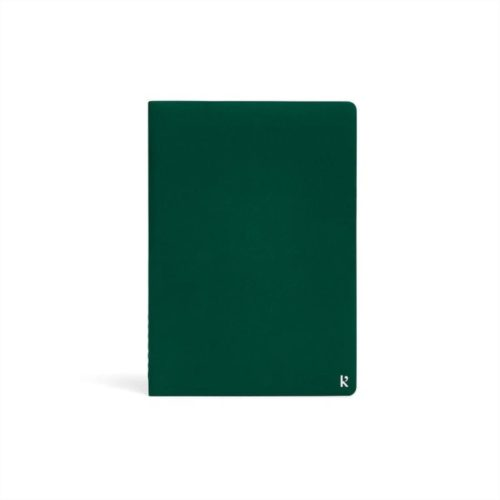 Karst A5 Journal Twin Pack - Plain + Ruled - Forest