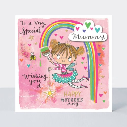Chatterbox Card - Mother's Day - Fairy & Rainbow