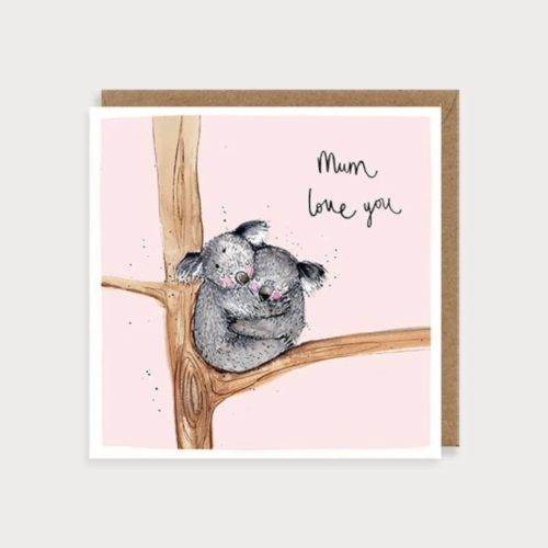 Louise Mulgrew Card - Mother's Day - Love You - Koalas
