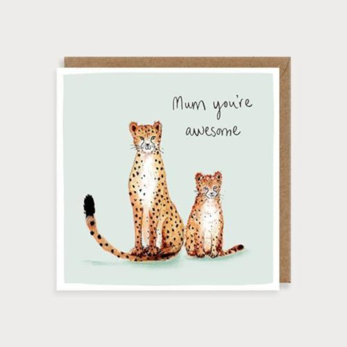 Louise Mulgrew Card - Mother's Day - Mum, You're Awesome