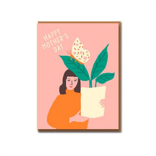 Emma Cooter Draws Card - Happy Mother's Day - Butterfly