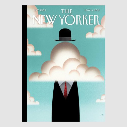 The New Yorker Card - Head In The Clouds