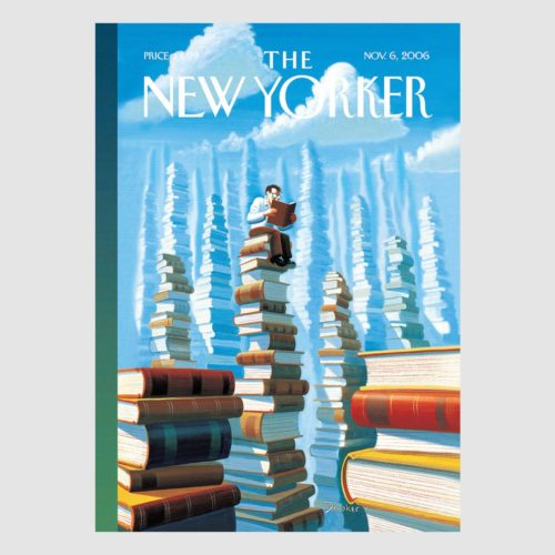 The New Yorker Card - Bookopolis