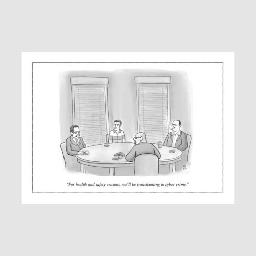 The New Yorker Card - For Health & Safety