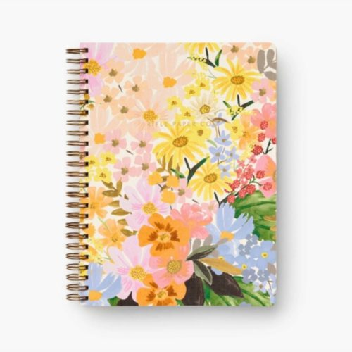 Rifle Paper Co Spiral Notebook - Ruled - A5 - Marguerite