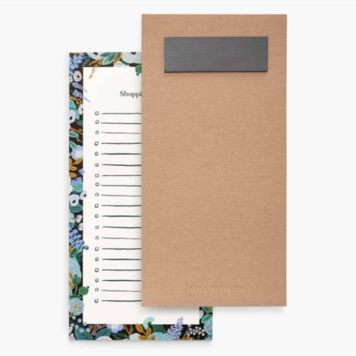 Rifle Paper Co - Shopping Pad - Garden Party Blue