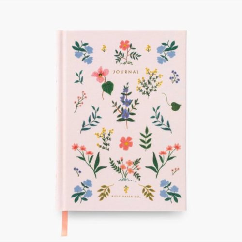 Rifle Paper Co - Fabric Journal - Ruled - Large - Wildwood