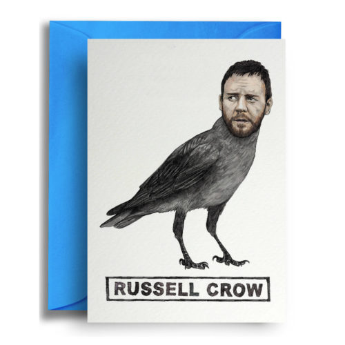 Quite Good Cards Card - Russell Crow