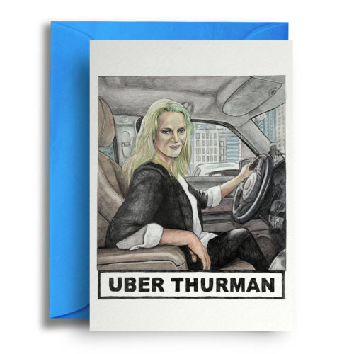 Quite Good Cards Card - Uber Therman