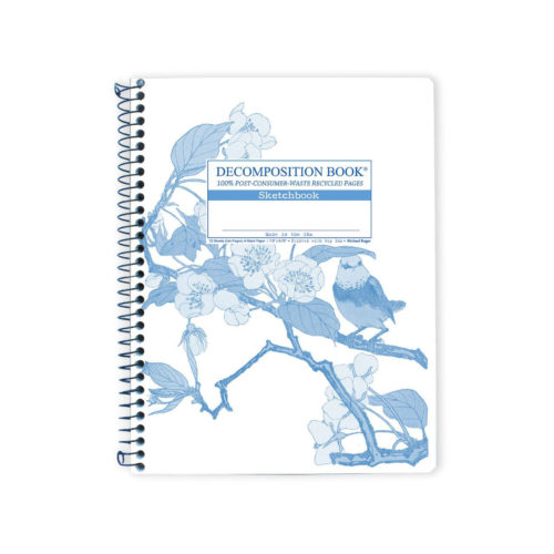 Decomposition Book - Large Notebook - Blank Sketch - Sweet Pear Tree